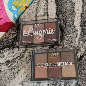 NYX Lid Lingerie & Cosmic Metals Shadow Palette NW